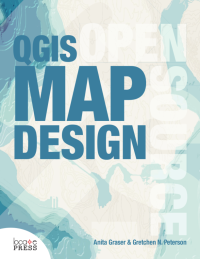 Voorpagina boek QGIS Map Design